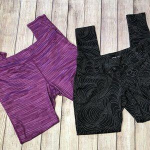 Bundle medium athletic yoga leggings